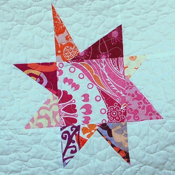 Modern Star Baby Quilt