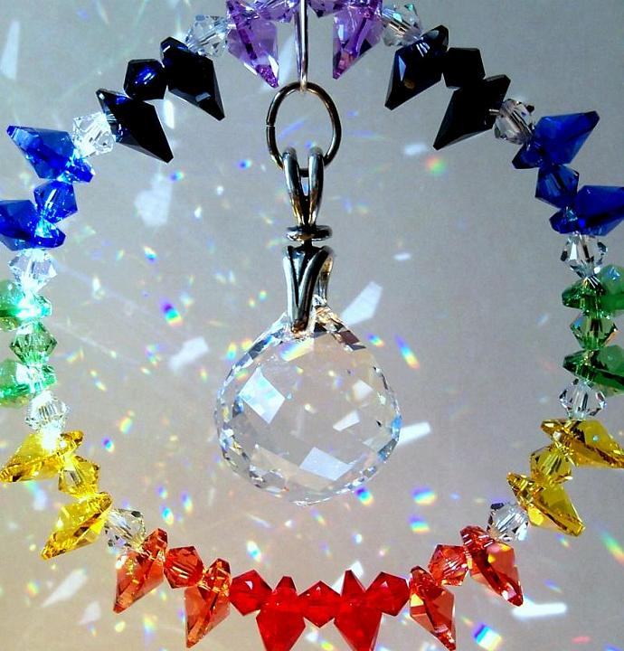 Crystal Sun Catcher - Endless Rainbow