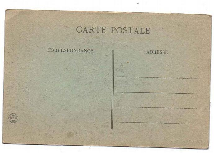 Set of 2 WWI Vintage French Military Postcards with Aviation theme