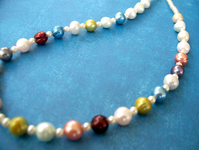 Summer Freshwater Pearl Necklace