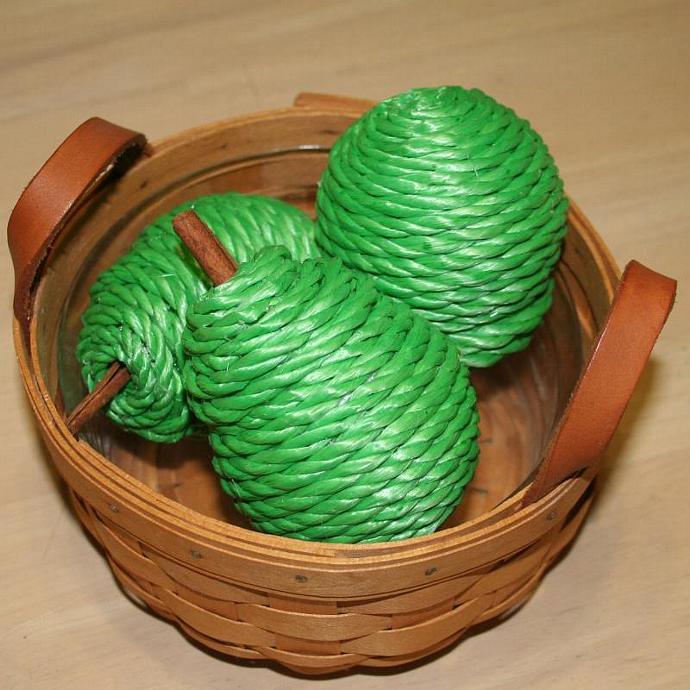 Green Twine Pears (Set of 3)