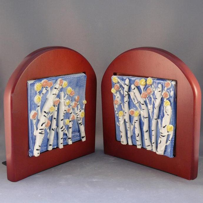 Bookends - Aspens in the Fall