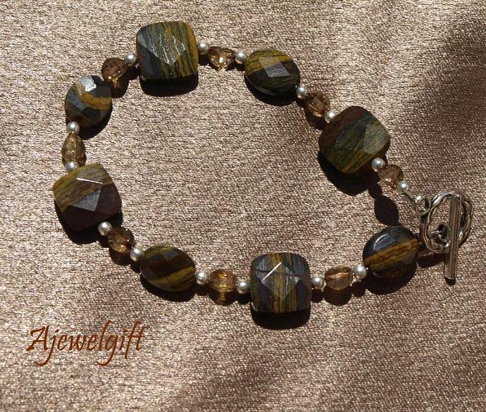 Tiger Iron Bracelet 10-009