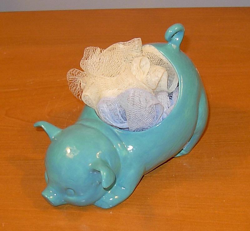 Cone Glass Soap Holder