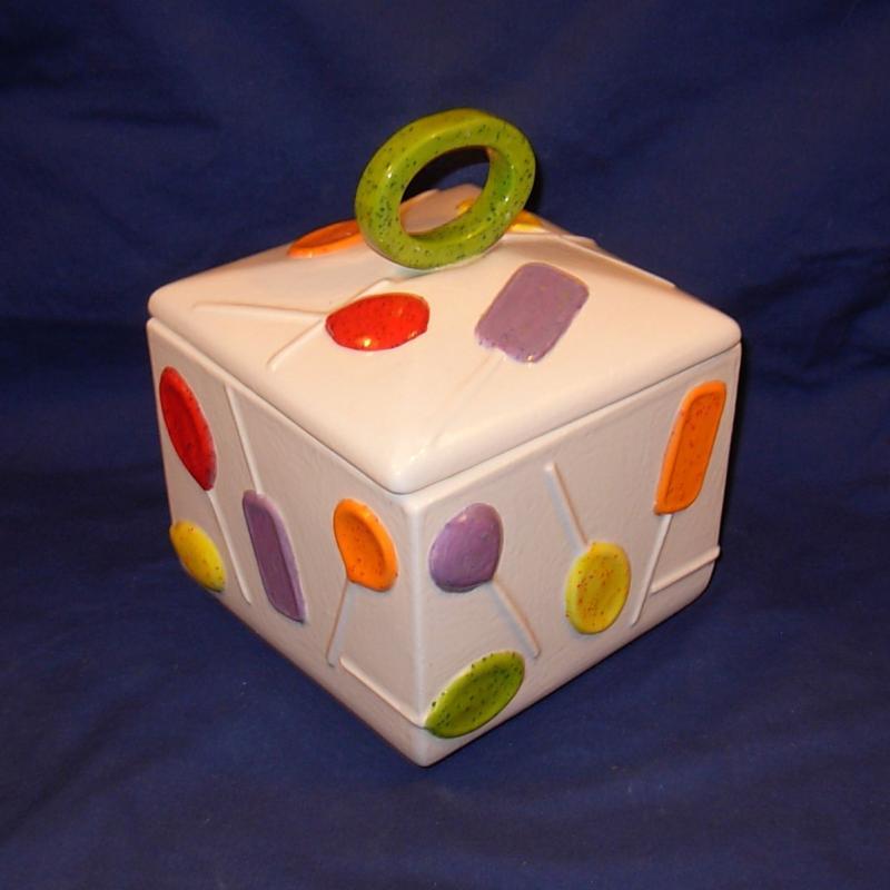 Lollipop Candy Dish Cookie Jar On Ceramicsbylisa