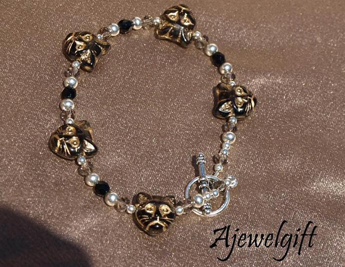 Black Cat Bracelet