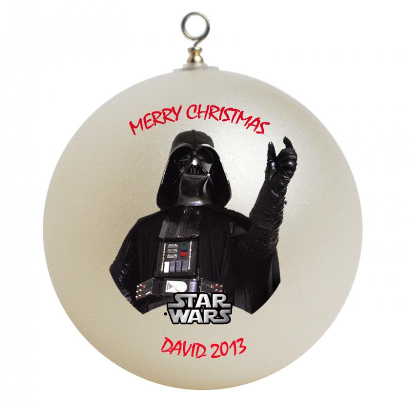 Star Wars Darth Vader Personalized Christmas by GiftsFromHyla on
