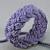 purple rope bracelet turks head knot bracelet sailor bracelet nautical bracelet
