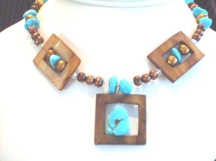Chunky & Square Necklace