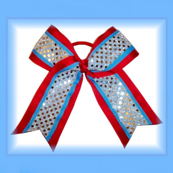 Webb City Cardinals CHEER Competition Bow  FREE SHIPPING