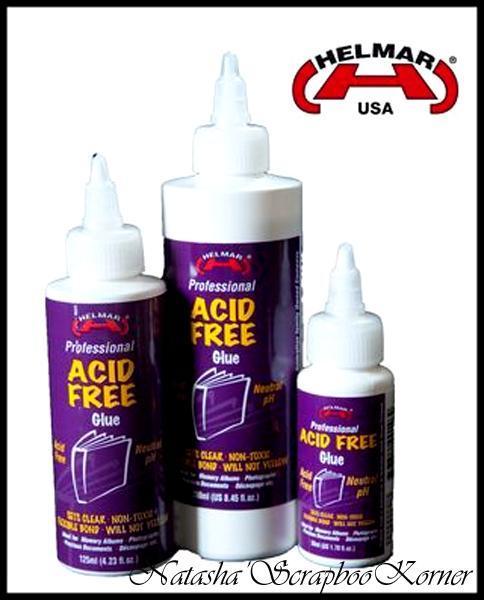 Helmar Acid Free-Neutral pH glue 4.23 fl.oz