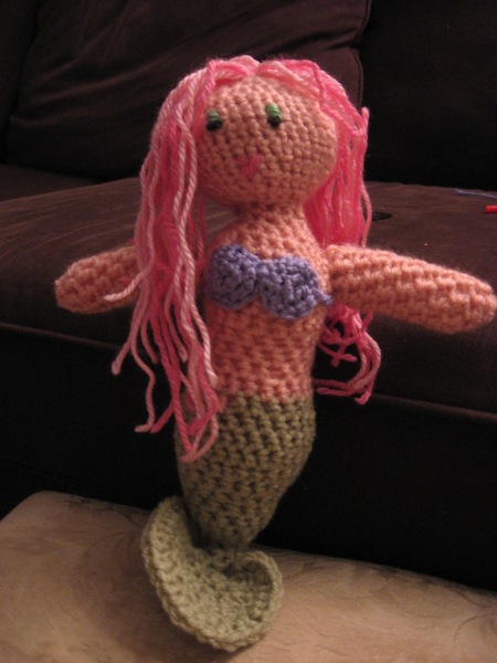 Amigurumi Mermaid