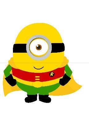 Robin Minion Tee All Sizes Free Name Included Free name included