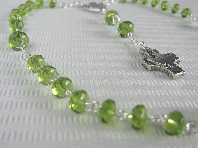Protestant rosary August birthstone