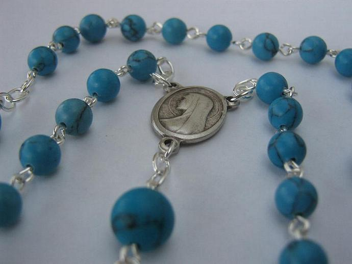 Catholic rosary December birthstone