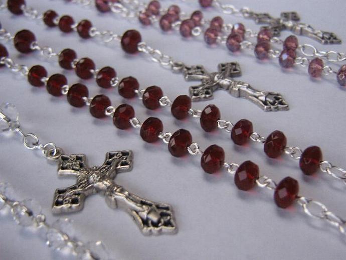 Catholic rosary February birthstone