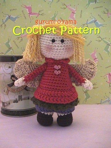 Amigurumi Design Guide : Amigurumi doll crochet pattern, Guardian Angel gurumiOrama