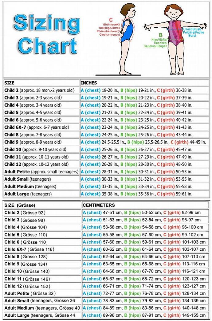 Gymnastics Girls Leotard Child size 4 6 8 10 black rainbow block geometric