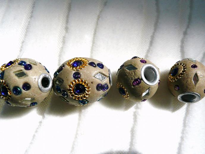 Kashmiri Lac Beads