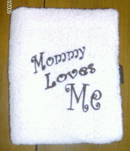 Mommy Loves Me Changing Pad