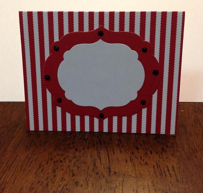 Circus/Carnival Buffet Cards set of 6