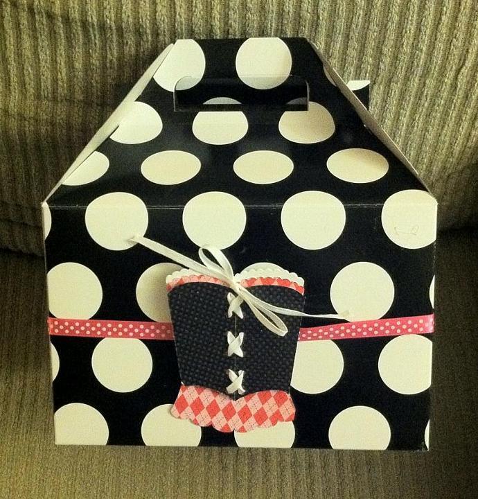 Custom Favor Boxes set of 10
