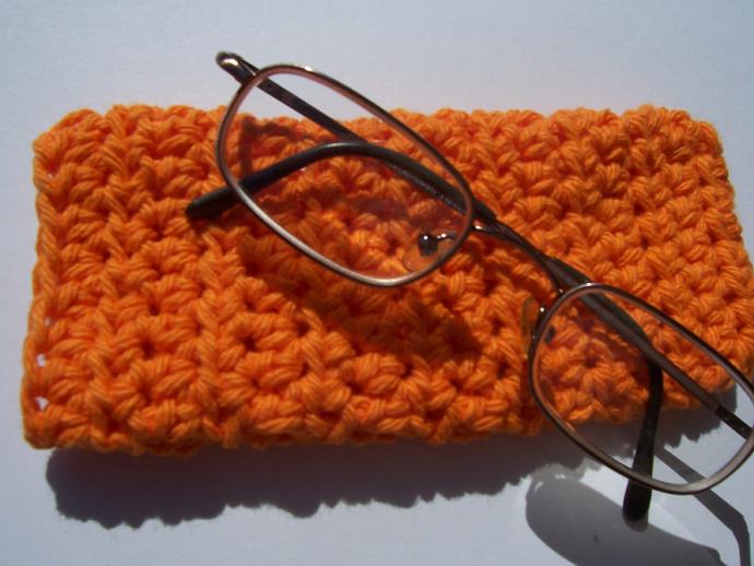 Orange Eye Glass Snuggie