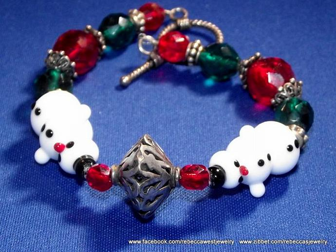 Snowman Bracelet