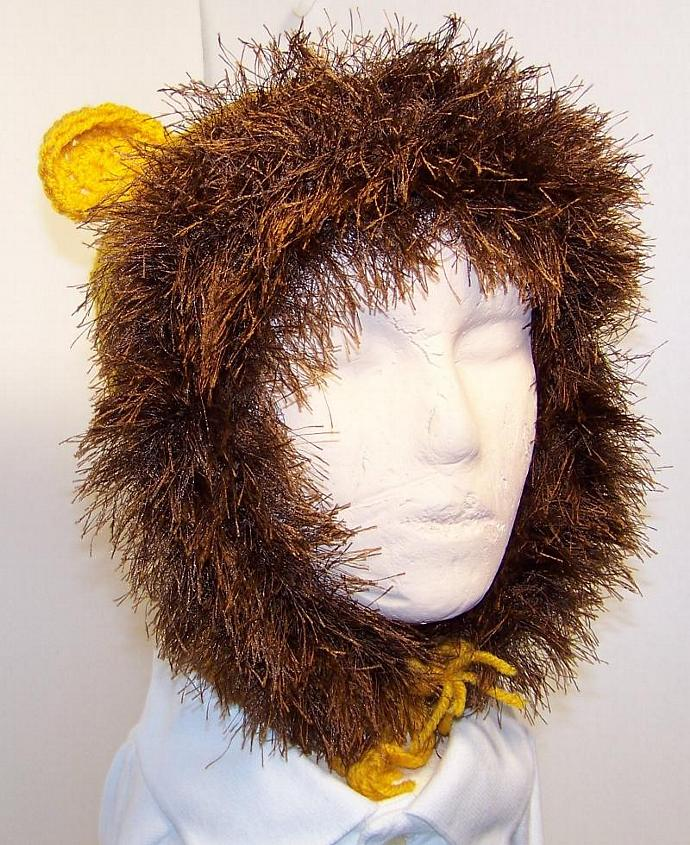 Lion Crochet Hat for Child