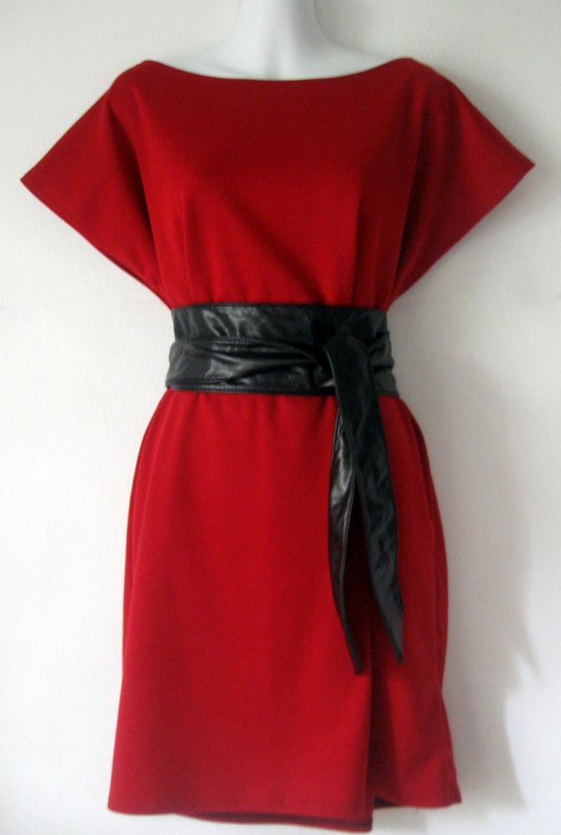 Red Kimono Dress | But Dress