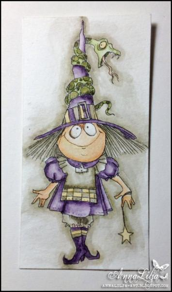 CALISTA the Witch digi stamp