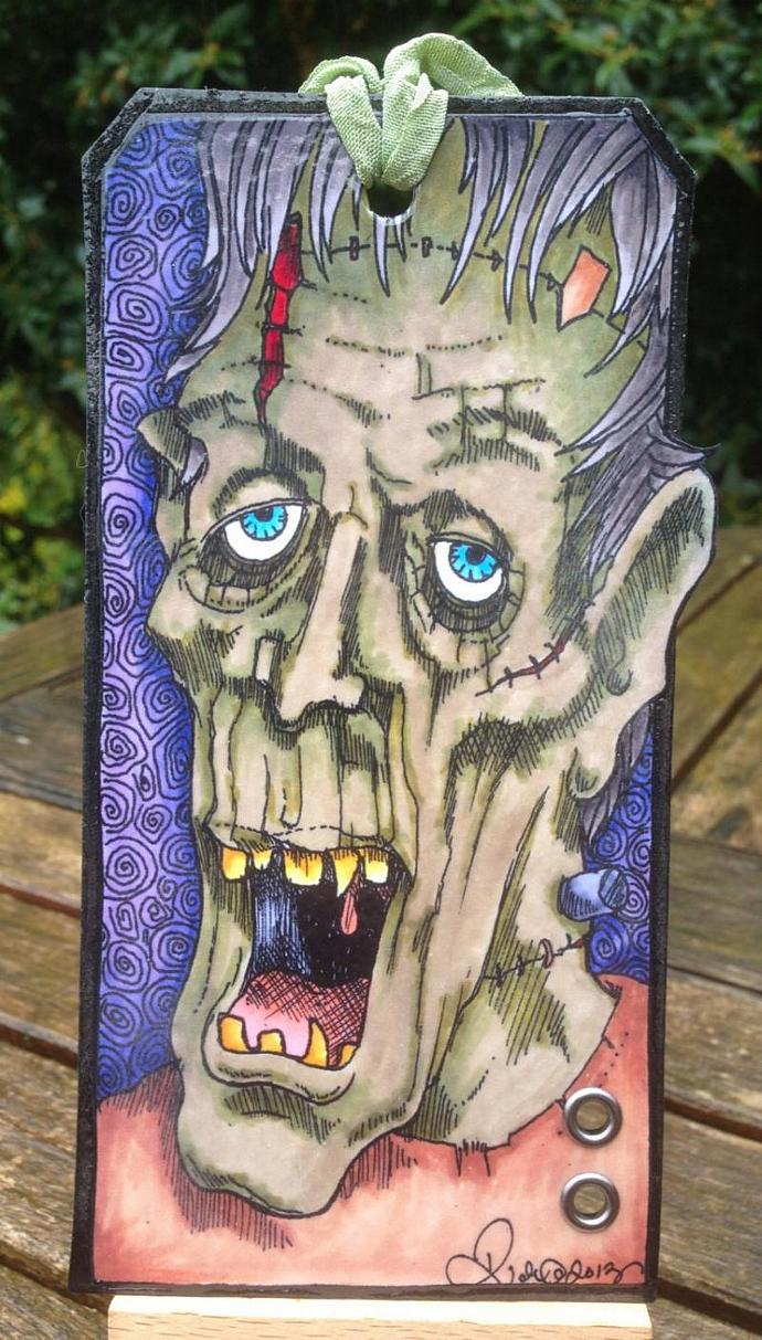 MONSTER digi stamp