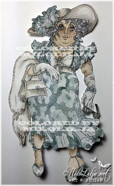 Mrs. Pete at Blackpool digi stamp