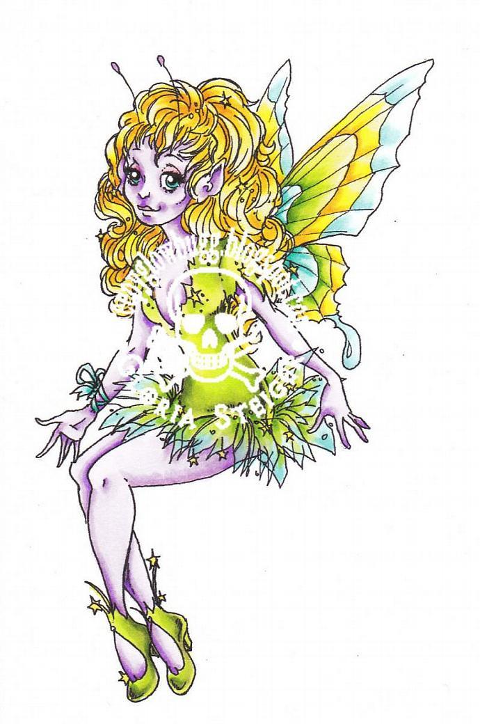 Star Fairy Digital Stamp