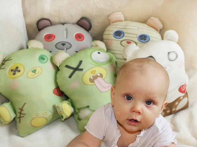 Halloween toy, mummy toy bear, Organic cotton, Stuffed toy, baby toy, plush toy,