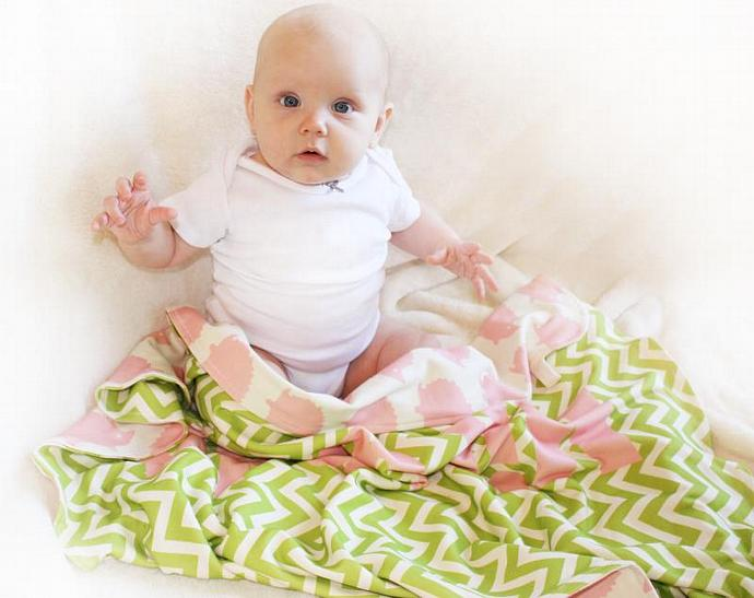Baby blanket, Organic baby blanket, Security Blanket, Lovey Blanket, Custom