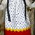 White/Black PolkaDot Personalized Pillowcase Dress