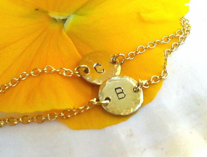 Personalized Jewelry, Child Jewelry, Baby Bracelet, Child Bracelet, Inital