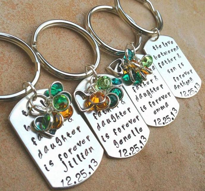 personalized gifts, personalized christmas gifts, personalized key chains,