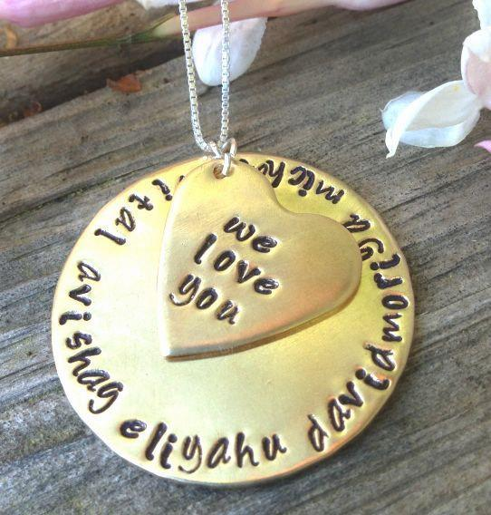 engraved necklace, personalized necklace, gifts for mom, personalized for mom,