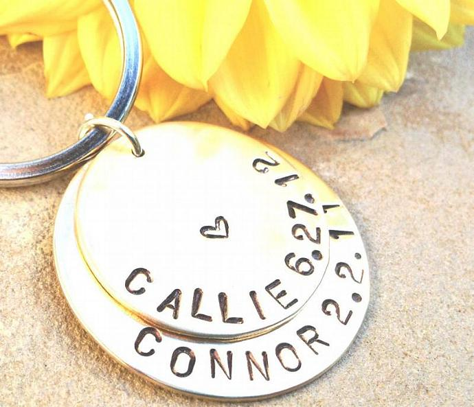 for dad, personalized key chain, gift for dad, gifts for mom, engraved