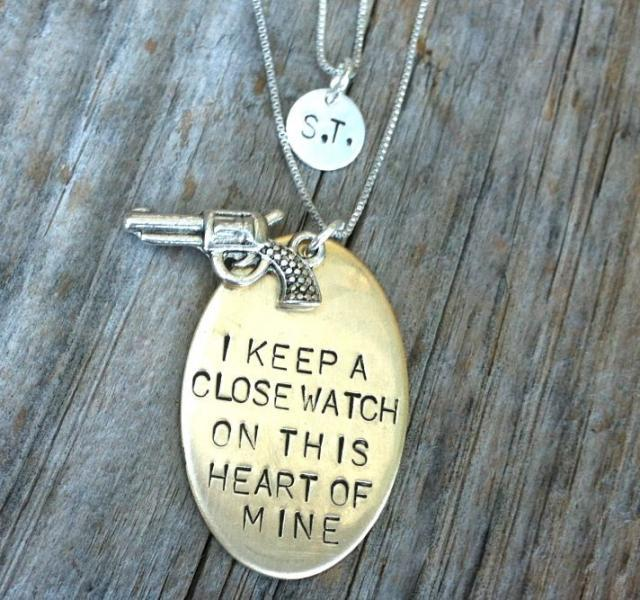 i keep a close watch, johnny cash jewelry, johnny cash necklace