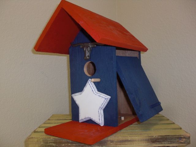 Birdhouse - Texas Lone Star