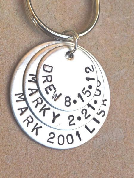 personalized key chain, dad key chain, christmas gifts, personalized dad, for