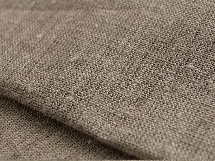 Linen flax Fabric artist canvas Natural Undyed by ...