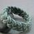 blue green cotton beach bracelet rope bracelet braided bracelet  770