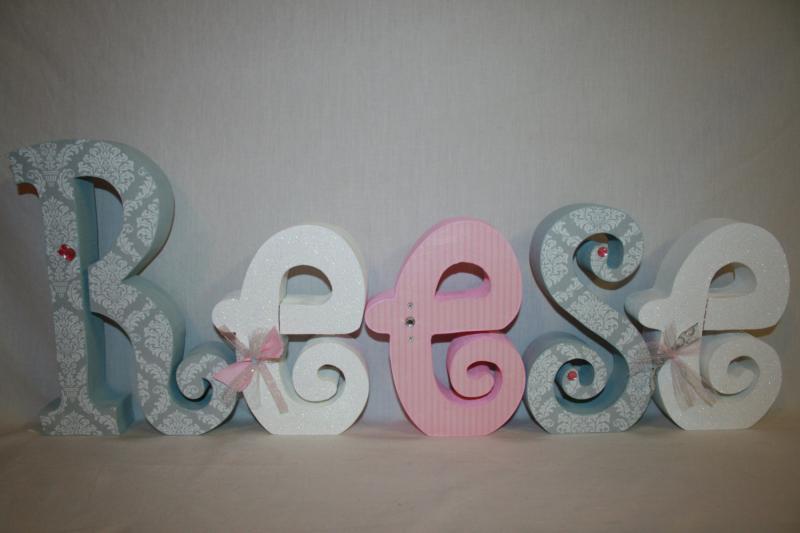 Diy Baby Name Art In Nursery Disney Baby Baby Girl Nursery Decor
