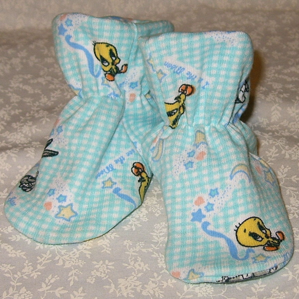 Willow River, Baby Bootie Pattern, includes 5 sizes, PDF