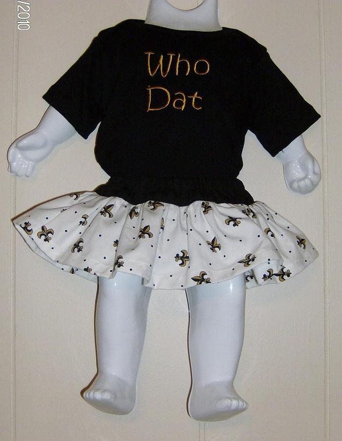 Black and Gold Fleur de lis Diaper Cover/Bloomer with skirt/Matching