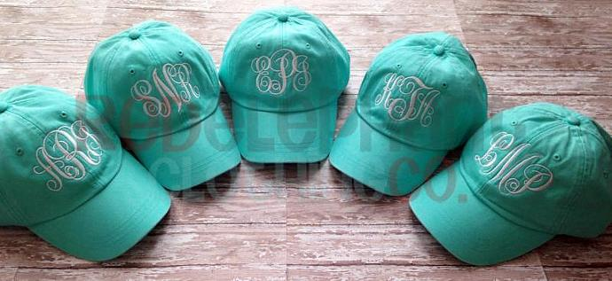 monogrammed baseball caps etsy monogram hat marley lilly ladies personalized cap women vintage